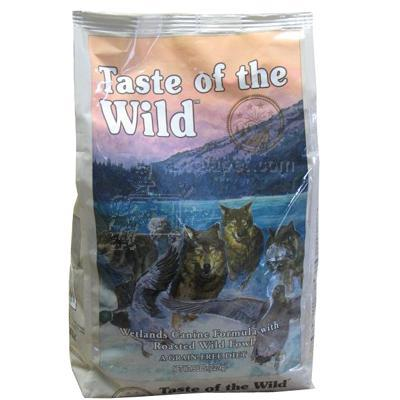 Taste of the Wild Wetlands Fowl Dry Dog Food 5 lb