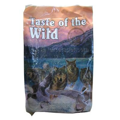 Taste of The Wild Wetlands Canine Formula Dog Food 15 lb