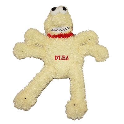 Flea Soft Plush Bite Me Dog Toy
