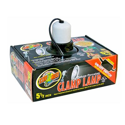 Deluxe Porcelain Reptile Light or Heat Lamp 5.5-inch Click for larger image