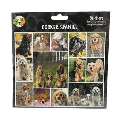 Arf Art Dog Sticker Pack Cocker Spaniel