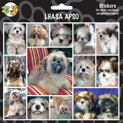 Arf Art Dog Sticker Pack Lhasa Apso