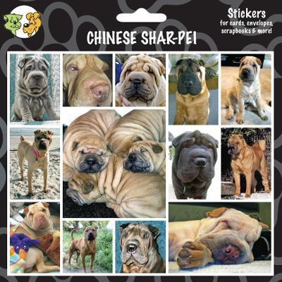 Arf Art Dog Sticker Pack Chinese Shar Pei