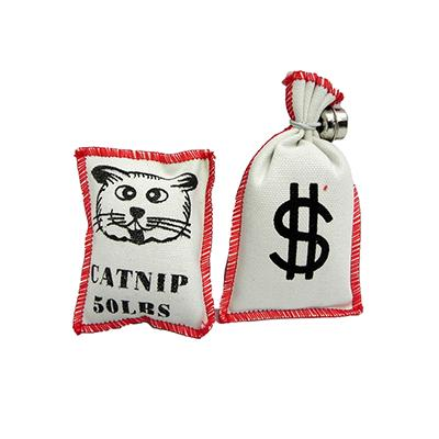 Purr-Pet Catnip Bag Cat Toys 2 Pack Click for larger image