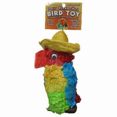 Colorful Bird Pinata Chewable Parrot Toy