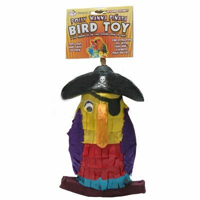 Pinata Pirate Parrot Bird Toy