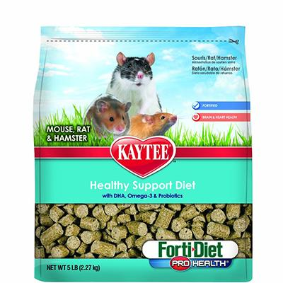 Kaytee Forti-Diet Mouse and Rat Food 5 lb Click for larger image
