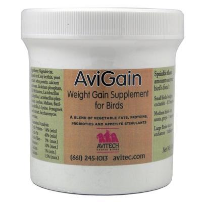 Avitech AviGain High-Energy Formula 8 oz. for Birds