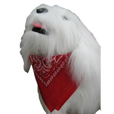 Dog Bandana Paisley Red Aria