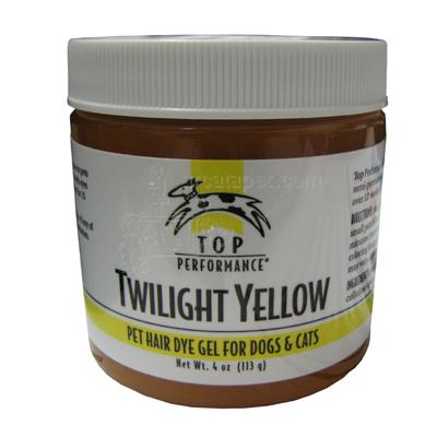 Top Performance Pet Hair Dye Gel Twilight Yellow