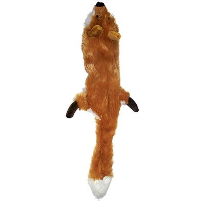 Skinneeez Fox Plush Dog Toy