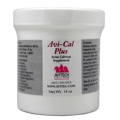 Avitech AviCal Plus Calcium Supplement 14 ounce
