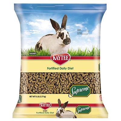 Kaytee Rabbit Supreme Fortified Daily Food Blend 5 lb