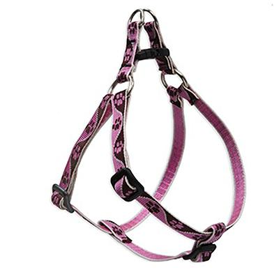 Nylon Dog Harness Step In Tickled Pink 10-13 inches
