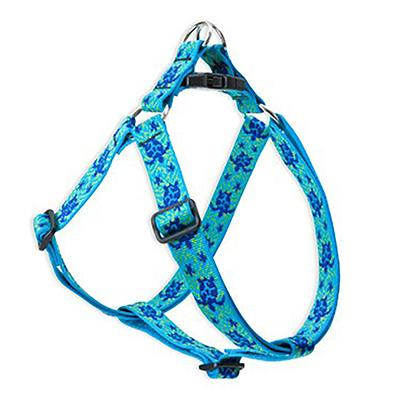 Nylon Dog Harness Step In Turtle Reef 24-38 inches Click for larger image