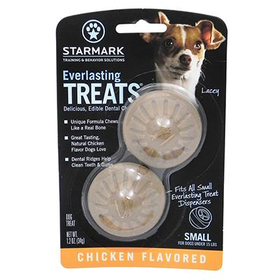 Everlasting Treats refill Chicken Small 2 pack Dog Treat