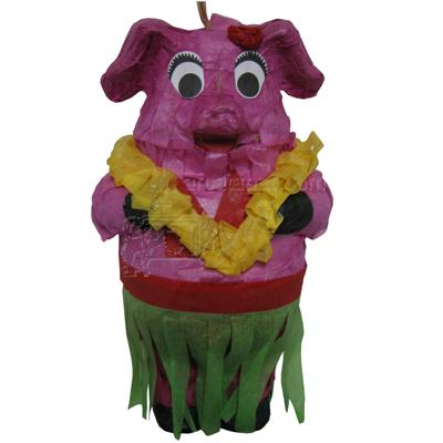 Bird Pinata Filled Pig Bird Toy