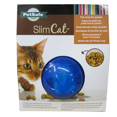 Multivet Slim Cat Treat Ball Blue