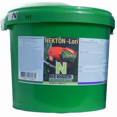 Nekton-Lori Complete Lory Diet 3000g (6.6lbs)