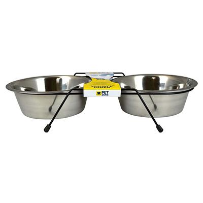 Steel Bowl Dog Diner 2 Qt