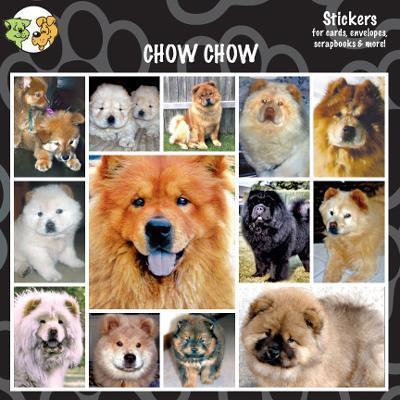 Arf Art Dog Sticker Pack Chow Chow