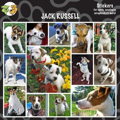 Arf Art Dog Sticker Pack Jack Russell Terrier Click for larger image
