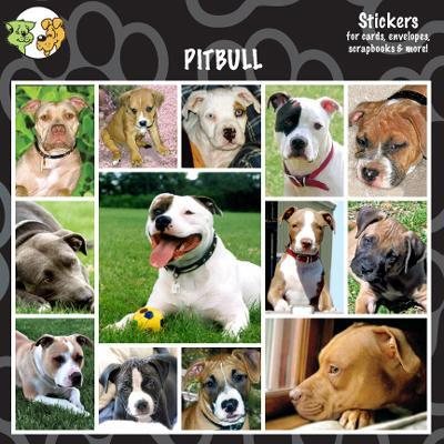 Arf Art Dog Sticker Pack Pit Bull Terrier