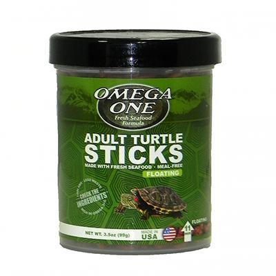 Omega One Floating Adult Turtle Sticks 3.5 oz Click for larger image