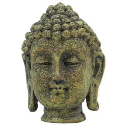 Buddah Head Mini Aquarium Ornament