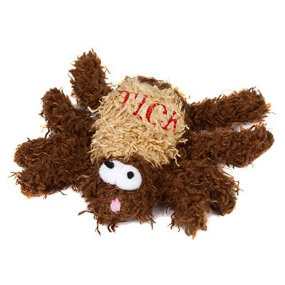 Soft Dog Toy Tick Medium Click for larger image