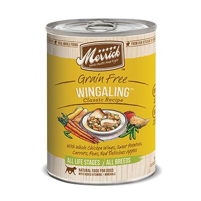 Merrick Wing A Ling Dog Food single can