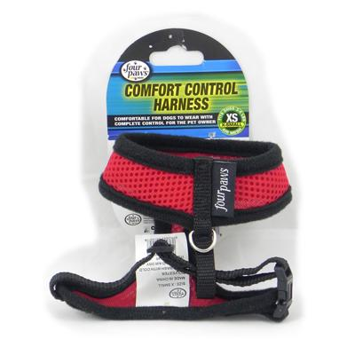 Comfort Control Dog Harness Red XSmall