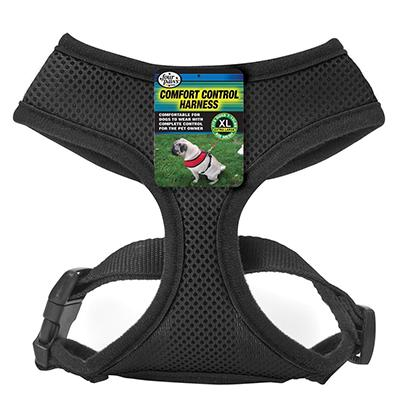 Comfort Control Dog Harness Black XLarge Click for larger image