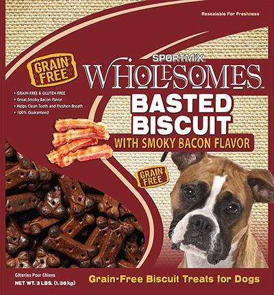 Sportmix Bacon Grain Free Dog Biscuit 3lb