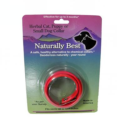 Naturally Best Herbal Cat Small Dog Flea Collar 12-inch
