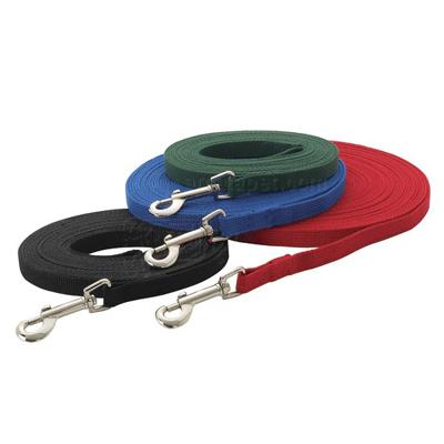 Dog Training Lead Blue 20 ft Click for larger image