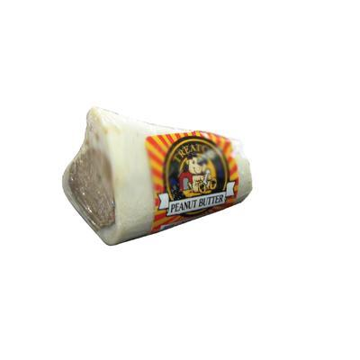 Peanut Butter Filled Bone 3 inch Dog Chew Treat