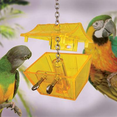 Nature's Instinct Parrot's Treasure Chest Bird Toy Click for larger image