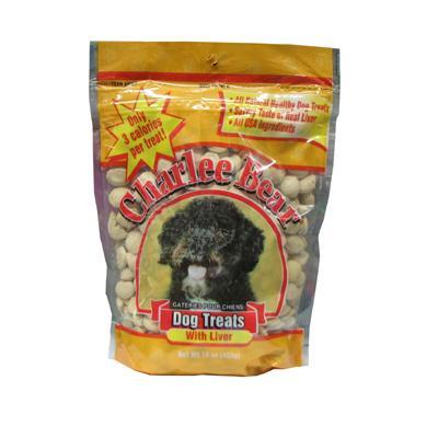 Charlee Bear Dog Training Treats Liver 16oz Click for larger image