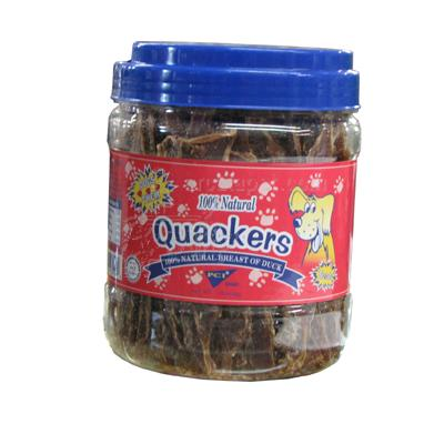 Quackers Duck Breast Fillet 16oz Dog Treats