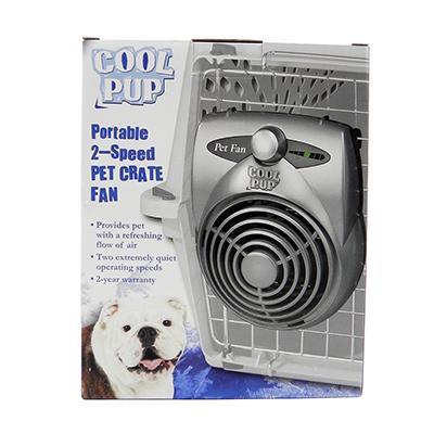 Cool Pup Crate Fan Standard Click for larger image