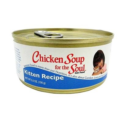 Chicken Soup for the Kitten Lover's Soul can case