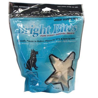 Bright Bites Large Peppermint 20oz bag Dog Dental Treat