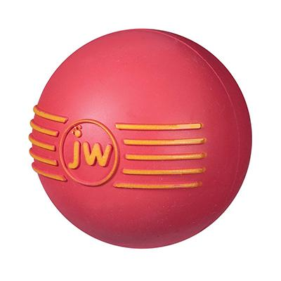 iSqueak Natural Rubber Ball Medium Dog Toy Click for larger image