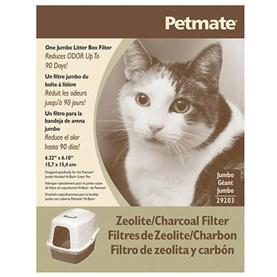 Petmate Jumbo Zeolite/Charcoal Litter Box Filter Click for larger image