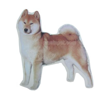 Double Sided Dog Decal Shiba Inu