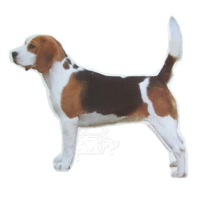 Double Sided Dog Decal Beagle Standard