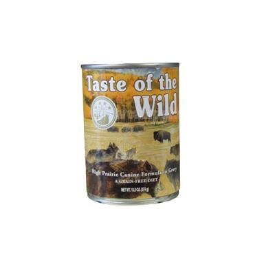 Taste of the Wild High Prairie Canned Dog Food each