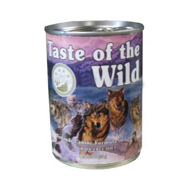 Taste of the Wild Wetland Fowl Canned Dog Food each
