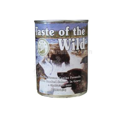 Taste of the Wild Pacific Streeam Canned Dog Food each
